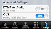 Advanced Call Quality Settings