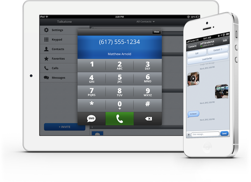 Talkatone Free Mobile Voip Calls And Texts On Ios And Android